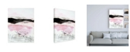 "Trademark Global Jan Sullivan Fowle Black Mountain Stripe Canvas Art - 36.5"" x 48"""