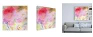 "Trademark Global Sheila Golde Pink Whisper Canvas Art - 19.5"" x 26"""