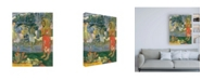 "Trademark Global Paul Gauguin La Orana Maria (Hail Mary) Canvas Art - 36.5"" x 48"""