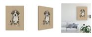 "Trademark Global Ethan Harper Breed Sketches II Canvas Art - 37"" x 49"""