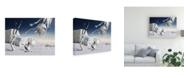 "Trademark Global Radoslav Penchev White Surreal Canvas Art - 15"" x 20"""