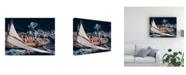 "Trademark Global Marc Pelissier Above Moonbeam Canvas Art - 37"" x 49"""