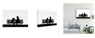 """Trademark Global Luciano Caturegli 11 Agosto Ore Canvas Art - 37"""" x 49"""""""