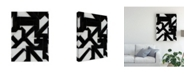 "Trademark Global Rob Delamater Topographic III Canvas Art - 37"" x 49"""