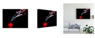 "Trademark Global Renee Doyle Smokin in Red Canvas Art - 15"" x 20"""