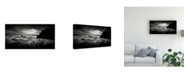 "Trademark Global Yucel Basoglu Ocean Coastline Canvas Art - 37"" x 49"""