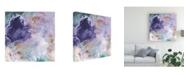 "Trademark Global Sheila Golden Purple Visions Canvas Art - 20"" x 25"""