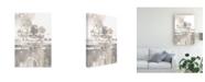 """Trademark Global Mike Schick Inbound Traffic Neutral Canvas Art - 15"""" x 20"""""""