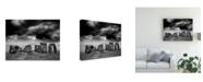 "Trademark Global Monte Nagler Stonehenge England Canvas Art - 15"" x 20"""