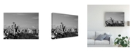 "Trademark Global Monte Nagler Seattle Cityscape Seattle Washington Canvas Art - 37"" x 49"""