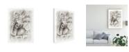 "Trademark Global Ethan Harper Frieze Study I Canvas Art - 37"" x 49"""