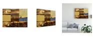 "Trademark Global Pablo Esteban Tuscan Villa Pattern 2 Canvas Art - 19.5"" x 26"""