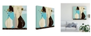 "Trademark Global Pablo Esteban Bold Vase Flowers 2 Canvas Art - 19.5"" x 26"""