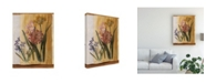 "Trademark Global Pablo Esteban Pink Flowers Distress 2 Canvas Art - 27"" x 33.5"""