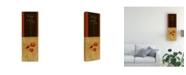 "Trademark Global Pablo Esteban Flowers and Line Art 3 Canvas Art - 27"" x 33.5"""