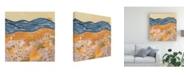 "Trademark Global Melissa Wang Wane I Canvas Art - 15.5"" x 21"""