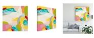 "Trademark Global June Erica Vess Chroma IV Canvas Art - 15.5"" x 21"""