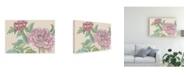 "Trademark Global Melissa Wang Peony Blooms I Canvas Art - 19.5"" x 26"""