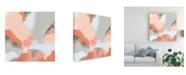 "Trademark Global June Erica Vess Aymara III Canvas Art - 36.5"" x 48"""
