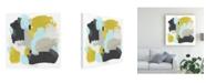 "Trademark Global June Erica Vess Introspect II Canvas Art - 36.5"" x 48"""
