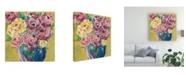 "Trademark Global Regina Moore Chaos Floral V Canvas Art - 36.5"" x 48"""