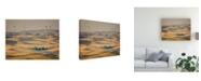 "Trademark Global PH Burchett Farm and Field IV Canvas Art - 36.5"" x 48"""