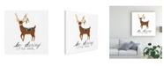 "Trademark Global Regina Moore Animals Canvas Art - 15.5"" x 21"""