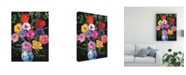 "Trademark Global Julie Joy Floral Canvas Art - 36.5"" x 48"""