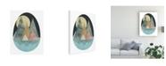 "Trademark Global June Erica Vess Terra Forms I Canvas Art - 36.5"" x 48"""