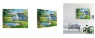 "Trademark Global Peter Snyder Idyllic New Brusnswick Canvas Art - 19.5"" x 26"""
