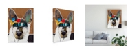 "Trademark Global Michel Keck German Shepherd I Canvas Art - 19.5"" x 26"""