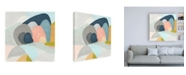 "Trademark Global June Erica Vess Whimsical Valley I Canvas Art - 36.5"" x 48"""