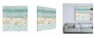 "Trademark Global Emma Scarvey Sea Glass Sandbar II Canvas Art - 15.5"" x 21"""