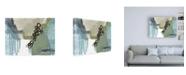 "Trademark Global Jennifer Goldberger Umber Links II Canvas Art - 27"" x 33.5"""