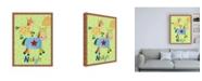 "Trademark Global Viv Eisner Farm Friends Animals IV Canvas Art - 36.5"" x 48"""
