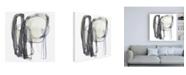 """Trademark Global June Erica Vess Insho IX Canvas Art - 15.5"""" x 21"""""""