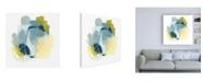 "Trademark Global June Erica Vess Water Motion I Canvas Art - 15.5"" x 21"""