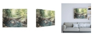 "Trademark Global Natasha Chabot Virginia Woods IV Canvas Art - 19.5"" x 26"""