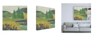 "Trademark Global Chariklia Zarris Rural Ramble I Canvas Art - 36.5"" x 48"""
