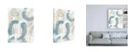 """Trademark Global June Erica Vess Water Orbit II Canvas Art - 19.5"""" x 26"""""""