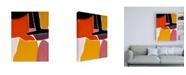 "Trademark Global Rob Delamater Finale I Canvas Art - 36.5"" x 48"""