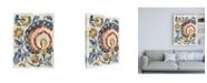 "Trademark Global Chariklia Zarris Paisley Path I Canvas Art - 36.5"" x 48"""