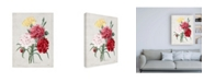 "Trademark Global Pierre Redoute Redoute Bouquet I Canvas Art - 36.5"" x 48"""