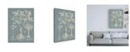 "Trademark Global Vision Studio Delicate Besler Botanical II Canvas Art - 36.5"" x 48"""