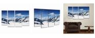 "Trademark Global Philippe Sainte-Laudy Distances Multi Panel Art Set 6 Piece - 49"" x 19"""