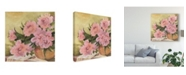 "Trademark Global Sheila Golden Flowers from Sonoma Canvas Art - 20"" x 25"""