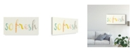 "Trademark Global June Erica Vess Fresh and Clean I Canvas Art - 20"" x 25"""