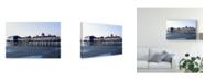 "Trademark Global James Mcloughlin Scene on the Water X Canvas Art - 15"" x 20"""