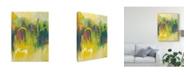 "Trademark Global Joyce Combs Happy Days I Canvas Art - 15"" x 20"""