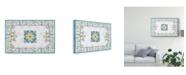 "Trademark Global Daphne Brissonnet Mediterranean Breeze III Canvas Art - 15"" x 20"""